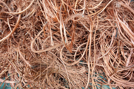 copper wire: Copper wire raw material in the energy industry
