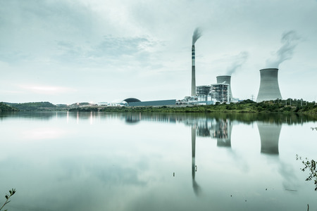 exhalation: power plant by night