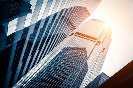 construccion: moderno centro de negocios en Hong Kong