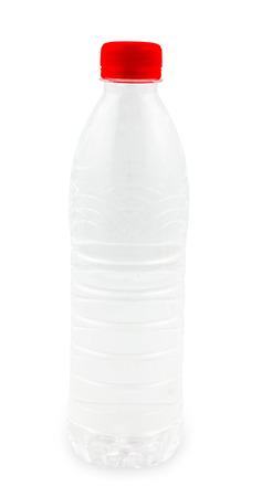bottled water: Clear bottled water for label design