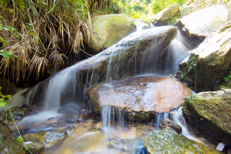spruit: Beautiful waterfall of fresh and pure water