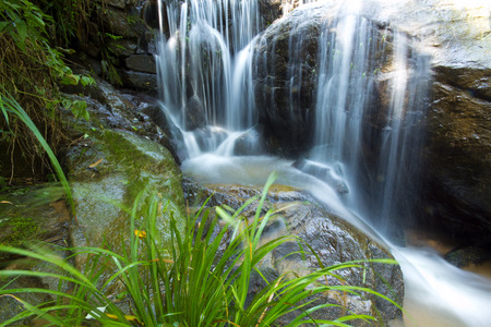nant: Beautiful waterfall of fresh and pure water