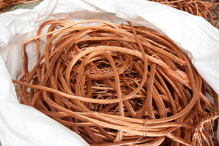 energy industry: Copper wire raw material in the energy industry