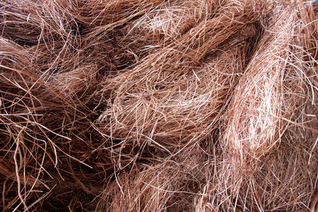 raw material: Copper wire raw material in the energy industry