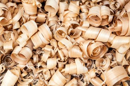 wood shavings: Background of wood shavings
