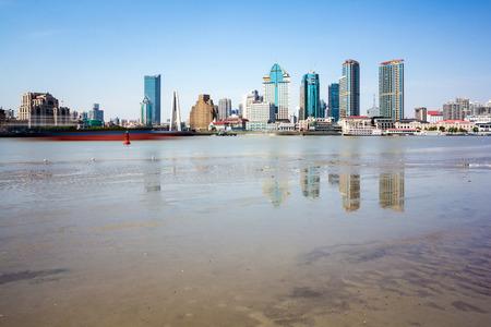 huangpu: Huangpu river beach scenery