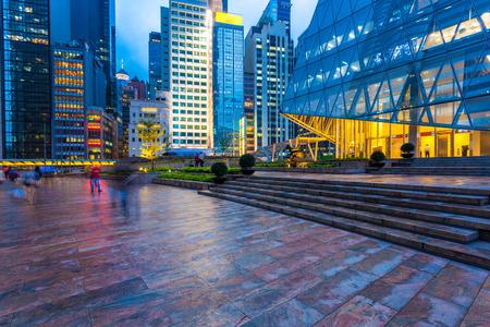 night scene: night scene of Hongkong