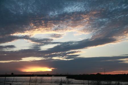 sunset Lake scenery