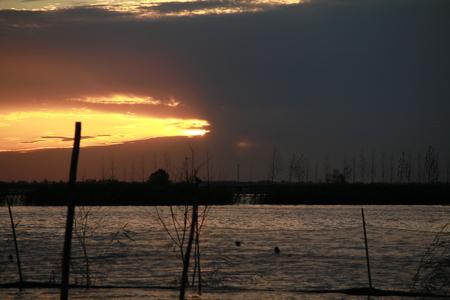 Chaoyang Lake Stock Photo