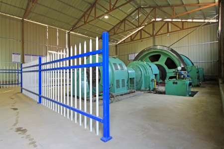 iron ore mechanical equipment lubrication station in a factory