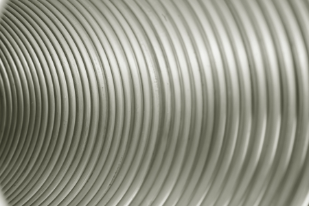 Seamless striped background, composed of red copper tube