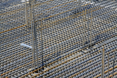 Rebar Engineering at a construction site, north china