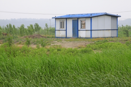 jitter: Simple houses and reed, north china
