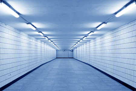 underground passage in a city Stock Photo - 26319750