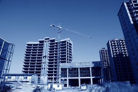 unfinished building: Unfinished building site
