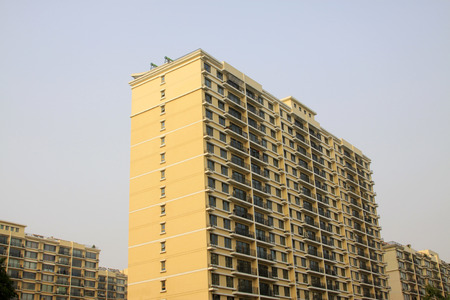 crowded space: BEIJING - MAY 21: residential buildings on may 21, 2014, Beijing, China