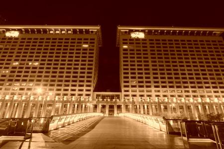 highend: BEIJING - NOVEMBER 24: The Pangu Grand view IBM building, on november 24, 2013, Beijing, China