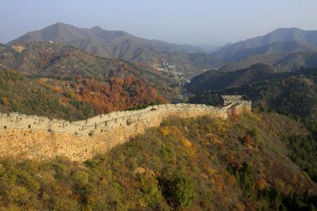 great wall: Jinshanling Great Wall scenery, China Stock Photo