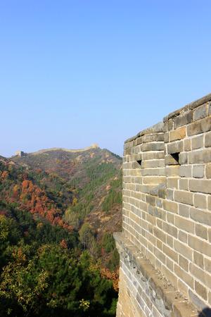 Jinshanling Great Wall scenery, China photo