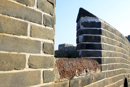 the humanities landscape: Jinshanling Great Wall scenery, China Stock Photo