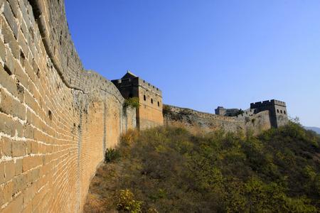 Jinshanling Great Wall scenery, China Stock Photo
