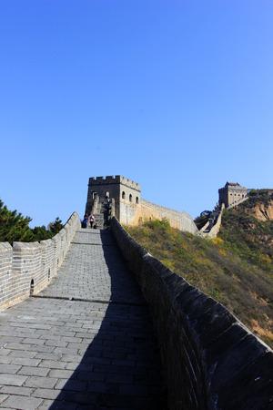 jinshanling: Jinshanling Great Wall scenery, China Editorial