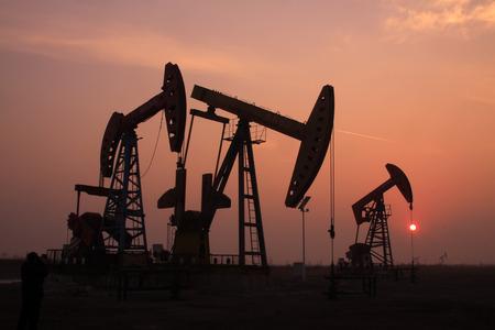 crank: manivela unidad de bombeo viga equilibrada en un campo petrolero, China
