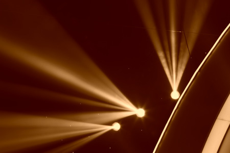 stage lighting: stage lighting effect in the dark