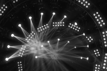 ステージ上の演出照明効果