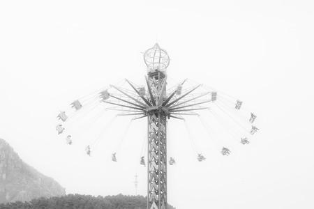 thrilling: Amusement park
