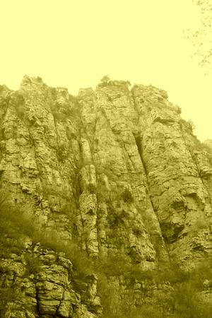 paisaje natural: monta�a paisaje natural en China
