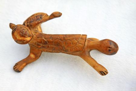 tallado en madera: Tortuga Alebrije