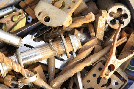 hardware tools: Hardware tools parts, closeup of photo