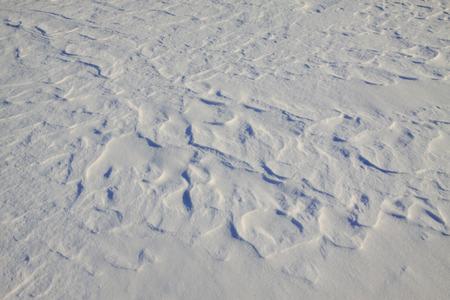 Winter scenery Snow texture