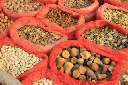 seasoning: Chinese seasoning stall, closeup of photo