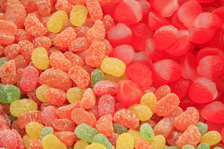 jelly beans: colorful candy jelly beans, closeup of photo