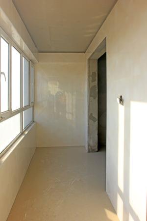 semifinished: Semifinished product room, closeup of photo