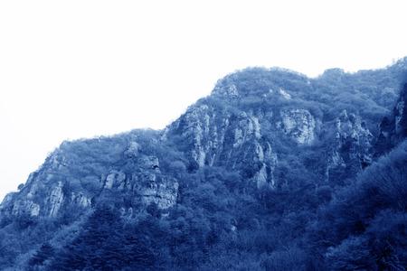 paisaje natural: mountain natural landscape in china Foto de archivo