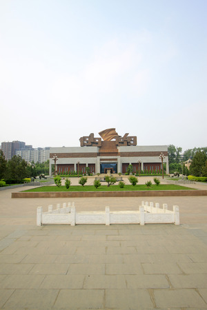 north china: Shijiazhuang - April 28: north China revolution war memorial, on April 28, 2015, shijiazhuang city, hebei province, China Editorial