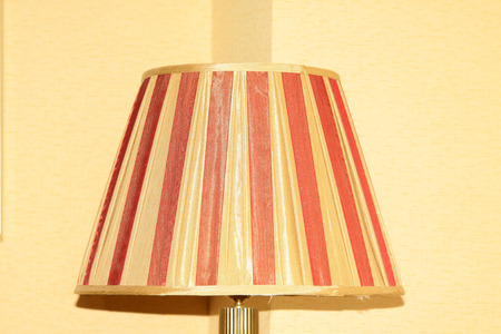 feature wall: lamp-chimney, closeup of photo