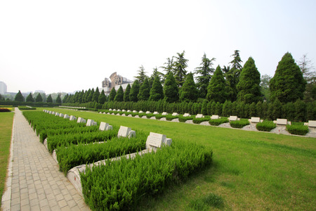 reverence: north China revolution war memorial and the tomb, shijiazhuang city, hebei province, China