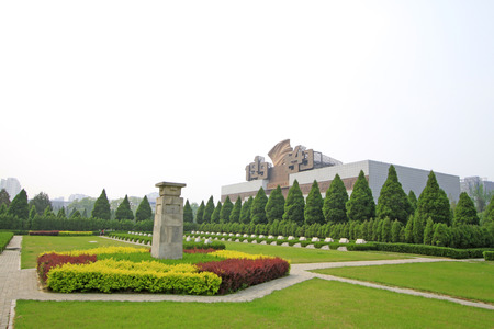appearance: north China revolution war memorial and the tomb, shijiazhuang city, hebei province, China