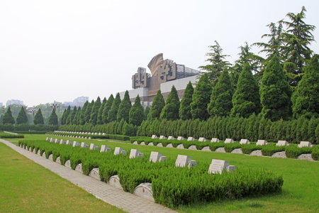 north china: north China revolution war memorial and the tomb, shijiazhuang city, hebei province, China