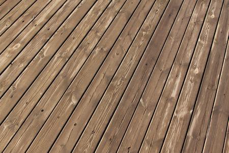 splice: damp wood splice together, closeup of photo Stock Photo