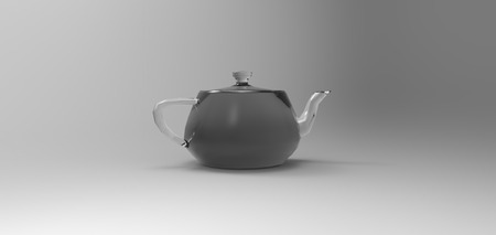 modelling: 3D teapot modelling rendering, computer generated images