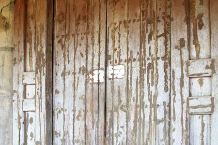 architectural style: ancient Chinese traditional architectural style wooden door, closeup of photo