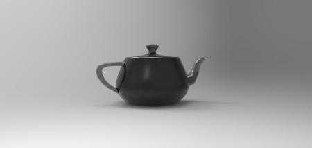 modelling: 3D teapot modelling rendering