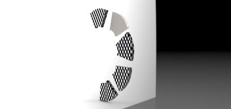 3d: 3D rendering Stock Photo