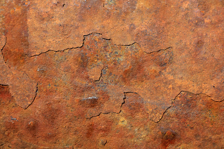 mottled: Mottled rust, closeup of photo Stock Photo