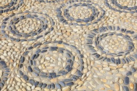 concentric: pebbles puzzle texture, concentric circles